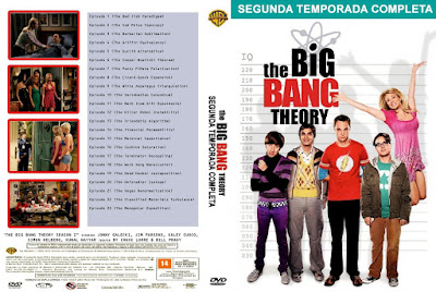 Série The Big Bang Theory 2º Temporada DVD Capa