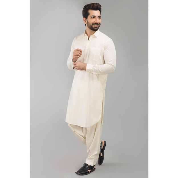 Gul Ahmed Cream bsic suits