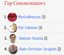 how to add top commenters widget to blogger