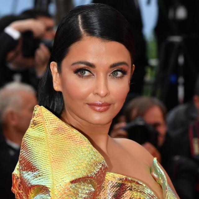 Aishwarya Rai Wears Jean Louis Sabaji Couture at Cannes 2019
