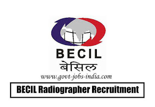 BECIL Radiographer Recruitment 2020