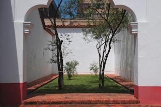 Patio de la Casa de Simón Bolívar
