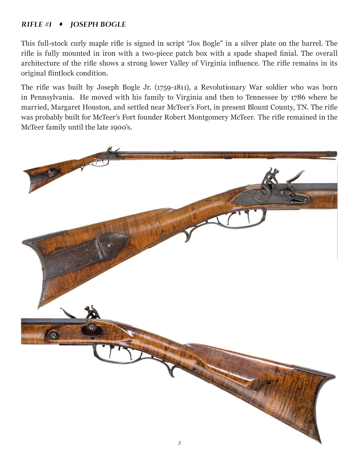 Contemporary Makers: Kentucky Rifles of the Great Smoky