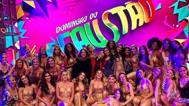 Coronavírus provoca quarentena de 20 bailarinas do Domingão do Faustão