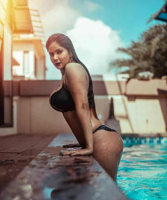 Actress Aabha Paul Sexy Bikini Photos