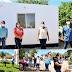 Lleva Gobernadora Pavlovich obra de agua potable, becas y apoyos para viviendas a Trincheras