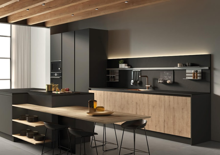 cocina-acabado-supermate-Tmatt-Nero-Roble-Nudos3