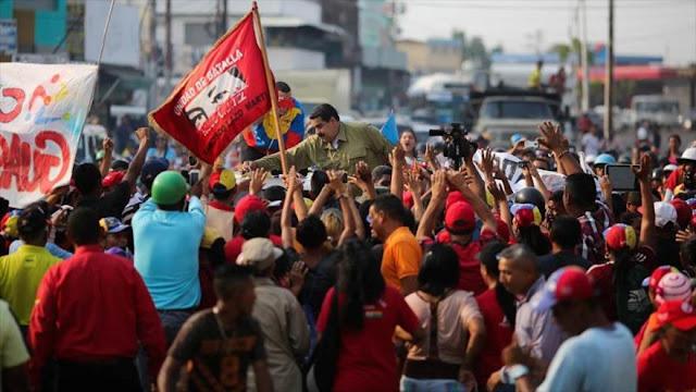 Maduro afirma que EEUU ordenó violentar Venezuela sin conseguirlo