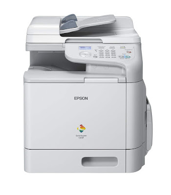 High durability alongside a monthly duty bicycle of upwards to  Epson AcuLaser CX37DN Driver Downloads