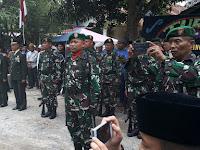 Beri Penghormatan Terakhir, Danramil Dan Jajaran Koramil Hadiri Pemakaman Pelda Purnawirawan Rahmad