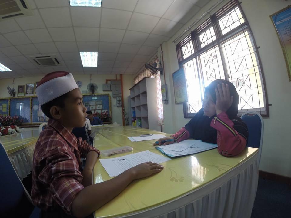Muhamad Adif Firdaus: Ujian Kemasukan Ke Tingkatan Satu