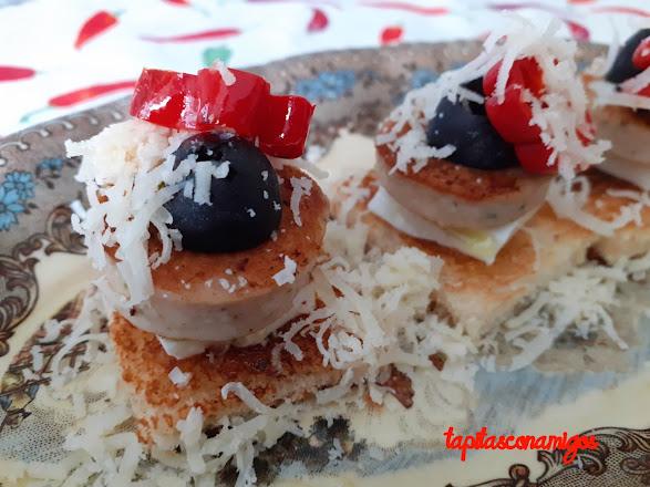 Bratwurst con jalapeño