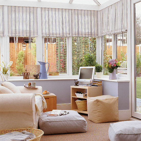 New House Decorating Ideas: New Home Interior Design: Conservatories