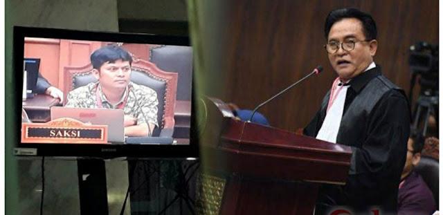 Kata Yusril, Saksi Prabowo Hairul Anas Cuma Numpang Nyaleg Dan Suka Ngeyel