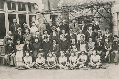 Les Joyeux Fantaisistes - Cour-Cheverny 1938