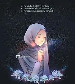 karakter kartun hijab