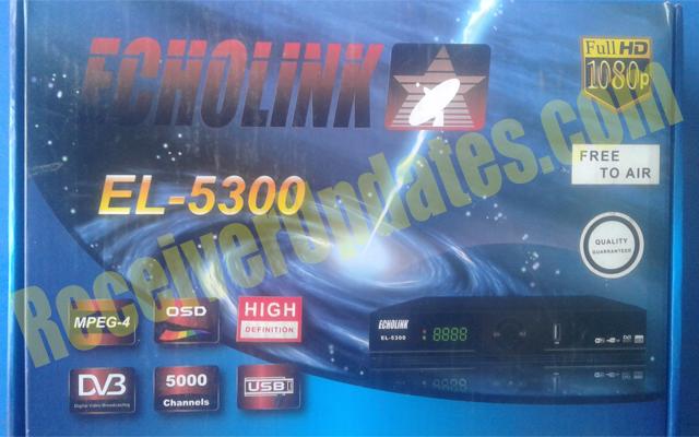 ECHOLINK EL-5300 RECEIVER NEW POWERVU KEY SOFTWARE TEN