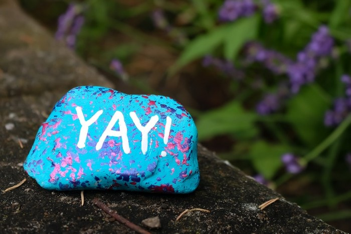 unique rock painting techniques using dollar store supplies