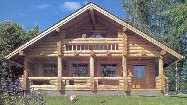 natural wooden house house affair