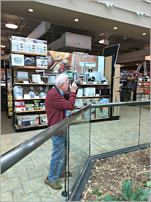 May 19, 2019 Out photographing with Great John.