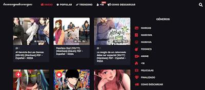 Mangas y anime en Descarga Directa