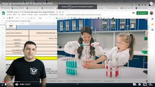 Clase integrada de ciencias y tecnología sobre las mezclas