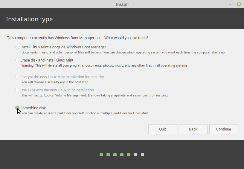 install linux mint dual boot with windows xp