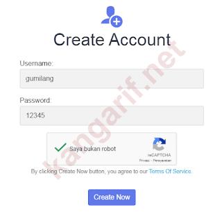 buat akun ssh websocket