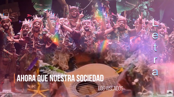 """🧦🧤🧣Pasodoble """"Ahora que nuestra sociedad"""" 🌴 Comparsa """"Los Aislados"""" con Letra (2020)"""