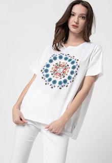 Дамска памучна Тениска Galactic Now - Desiqual