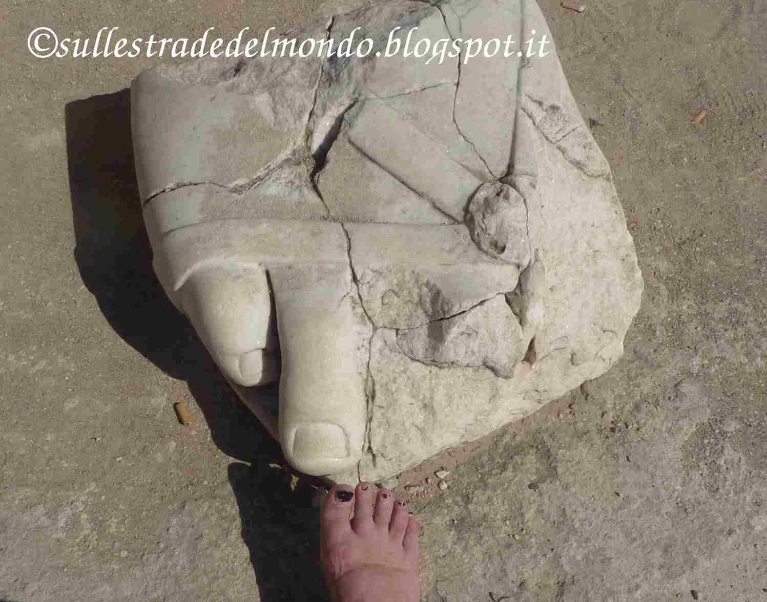 piede di marmo