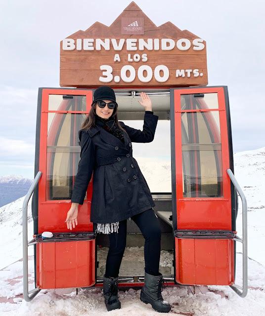 Valle Nevado, Farellones, Neve