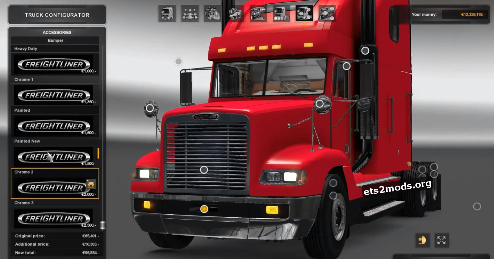 Freightliner Classical FLD 120 Truck