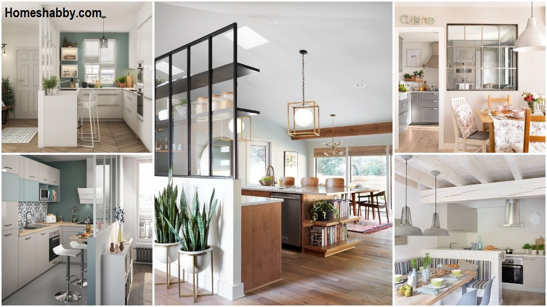 6 Beautiful Partitions For Your Open Kitchen Homeshabby Com Design Home Plans Home Decorating And Interior Design
