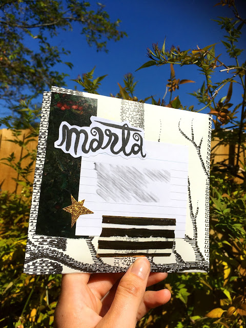 hand made envelope penpal letter
