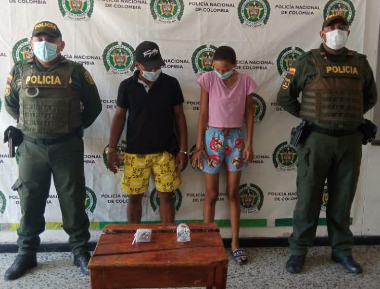 hoyennoticia.com, Pareja de jíbaros cayó en San Juan del Cesar-Guajira