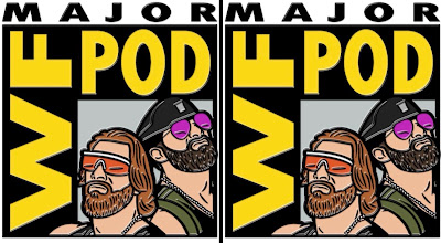 San Diego Comic-Con 2019 Exclusive S.T.O.M.P. in Paradise Pin by The Major Wrestling Figure Podcast – Curt Hawkins (Brian Myers) & Zack Ryder (Matt Cardona) – and Zombie Sailor