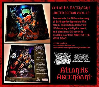 bal sagoth, atlantis ascendant, vinyl