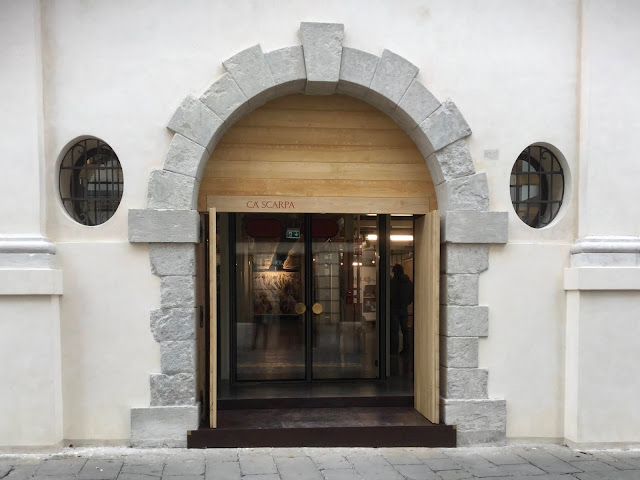 Entrance to Ca' Scarpa - Photo: Cat Bauer