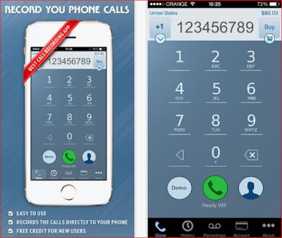 تطبيق لتسجيل المكالمات على آيفون وآيباد