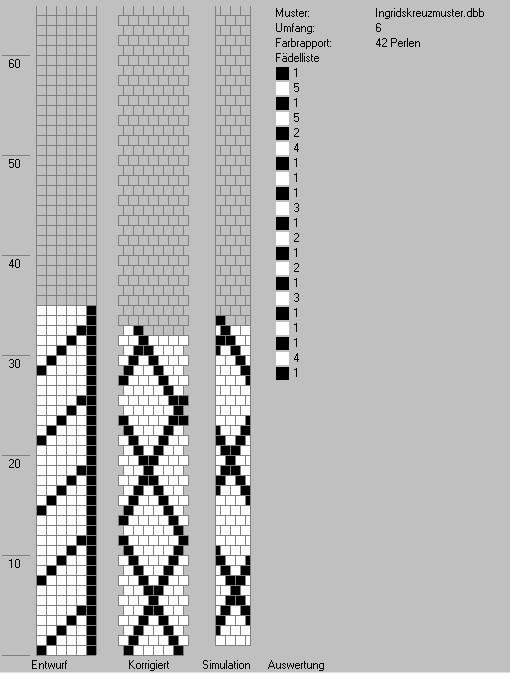 Linee Alchemiche Bijoux : Bead crochet Pattern