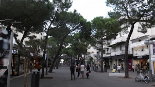 Riccione is renowned for its elegant tree-lined boulevards as well as its wide beaches