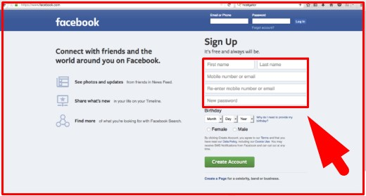 facebook login sign up or learn more about facebook