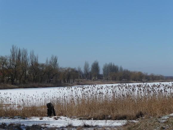 Селидово. Донецкая область. Украина. Река Солёная