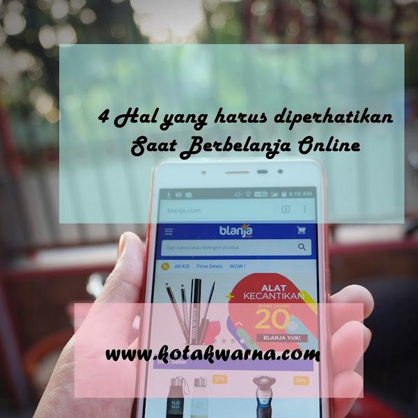 4 Hal Yang Harus Diperhatikan Saat Berbelanja Online