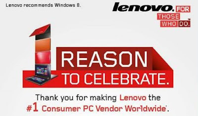 Lenovo 1 Reason to Celebrate PC Promo