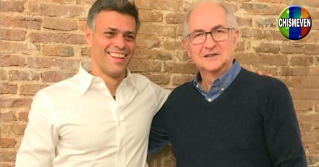 Leopoldo López y Antonio Ledezma se reunieron por primera vez para hablar sobre los avances