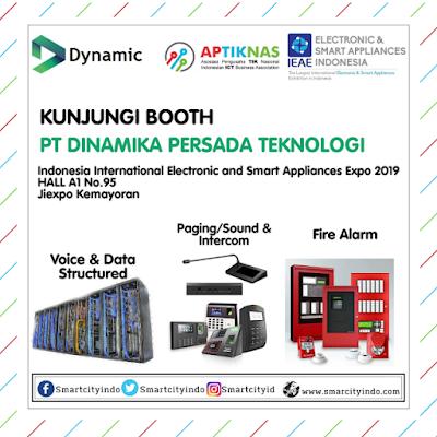 Visit BOOTH PT Dinamika Persada Teknologi di Hall A1 No.95 at Jiexpo Kemayoran