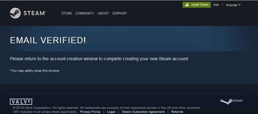 Cara Membuat Akun Steam Untuk Main Game Lewat Email Warnetgea Com Online Gaming Browsing