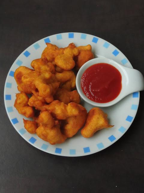 Gobi Bajjis, Cauliflower Fritters